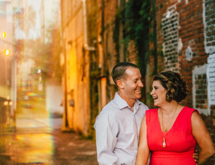 Ybor City Engagement Photography :: Sara + Glenn