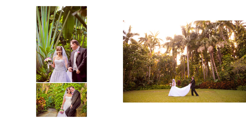 Sunken Gardens Wedding St Pete Florida