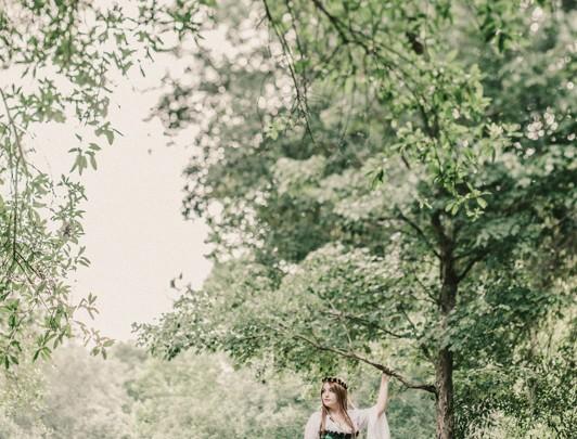 Saint Petersburg Photographer :: Enchanted Forest Shoot