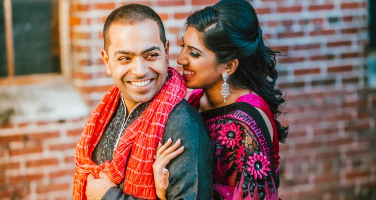 Tampa South Asian Engagement Photography :: Anita + Hussain